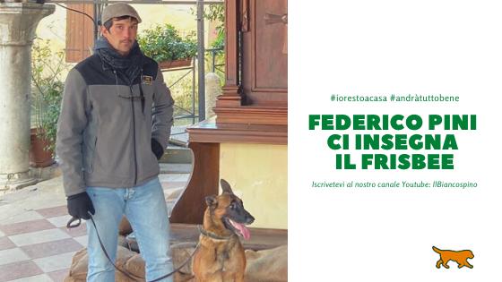 Federico Pini ci insegna il Frisbee